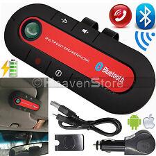Bluetooth Wireless Multipoint Speaker Handsfree In-car Call Car Kit Speakerphone