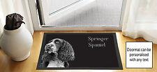 61cmx40.6cm Springer Spaniel design noir brouillon DESSIN Porte d'entrée Tapis