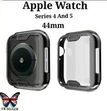 Apple Smart Watch Black Screen protector Protective Case Face Cover 4 & 5. 44mm