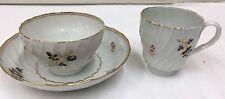 Antique Porcelain Tea Bowl Cup Saucer