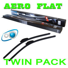 21/18 Inch Aero Flat Windscreen Wipers Blades Washer System Seat Ibiza 93-02
