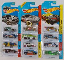 Hot Wheels 2014 TREASURE HUNT LOT OF 12 SUBARU LOOP COUPE FIESTA SPEEDBOX MOMC
