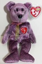 "TY Beanie Babies ""2000 SIGNATURE BEAR"" - MWMTs! Must Have! RETIRED! GREAT GIFT!"