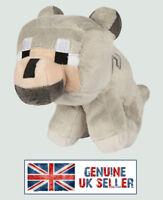 MINECRAFT BABY WOLF soft plush toy UK SELLER - BRAND NEW