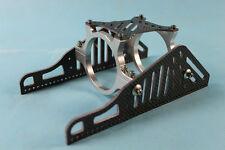 Carbon motor mount for 56mm motor, Brushless rc boat silver