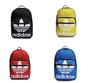 Adidas Originals Trefoil Backpack Laptop Sleeves Red, Blue, Yellow, and Black