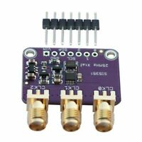 Si5351A I2C 25MHZ Clock Generator Breakout Board 8KHz to 160MHz for Arduino G5X4