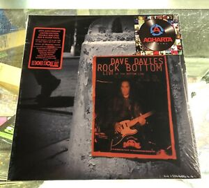 Dave Davies-Rock Bottom: Live At The Bottom Line 2XLP On Red&Silver Vinyl KINKS