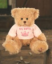 Teddy Bear Big Sister Settler Bears Handmade Pink Collectable Gift 38cms