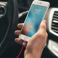 2.4A Nylon Quick Magnetic Type C/IOS/Micro USB 360 Round Fast Charger Cable