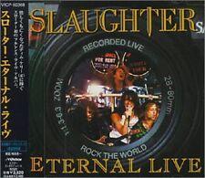 "SLAUGHTER ""Eternal Live"" CD Japan w/obi +1 Bonus Victor Entertainment VICP-60368"
