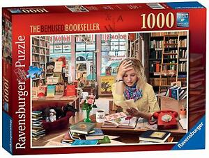 Ravensburger - The Bemused Bookseller 1000pc Jigsaw Puzzle