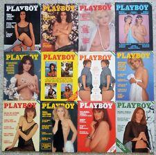 PLAYBOY IT Lotto full year annata 1976 Bourboulon Janet Agren Teresa Ann Savoy