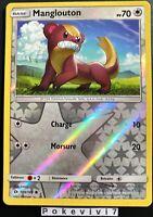 Carte Pokemon MANGLOUTON 109/149 Reverse Soleil et Lune 1 SL1 FR NEUF