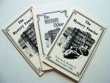 1981-1982 THE MYSTERY FANcier: A COLLECTION OF THREE VOLUMES