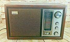 New ListingVintage Sony Model Icf-9650W High Fidelity Fm/Am Table Radio