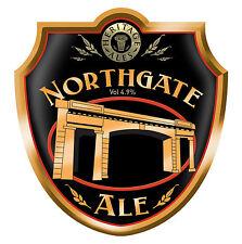 Framed Print - Real Ale Pump Clip Northgate Heritage Ale (Picture CAMRA Beer)