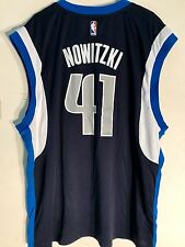Adidas NBA Jersey Dallas Mavericks Dirk Nowitzki Navy sz 2X