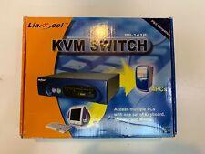 LinXcel PS-141B  KVM Switch Box