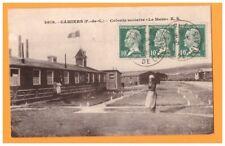 CAMIERS (62) MESS-CANTINE de la COLONIE SCOLAIRE animée en 1929