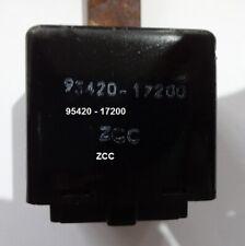 95420 17200 OMRON RELAY CENTRAL MODULE STARTER HYUNDAI MATRIX MODEL 2000 04