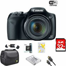 Canon Powershot SX530 HS 16MP Wi-Fi Super-Zoom Digital Camera Accessory Bundle
