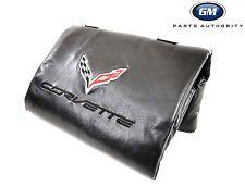 14-17 Corvette C7 Removable Roof Panel Storage Bag 23148691 Black w/ Logo OEM