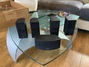 Bose Lifestyle Home Cinema Premium Double Cube Surround Sound Speakers