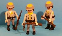 Playmobil Western 7046 -3 Confederate Soldiers