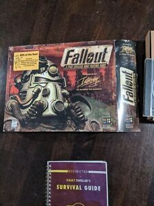Fallout - the Original - Box, game, manual!