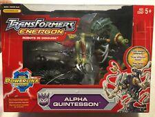Transformers Energon Alpha Quintesson Figure