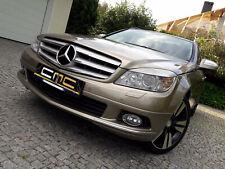 Scheinwerferblenden für Mercedes Benz C Klasse W204 Böser Blick Scheinwerfer ABS