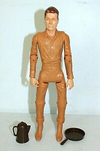 Vintage JOHNNY WEST Action Figure with Accessories, Marx 1965