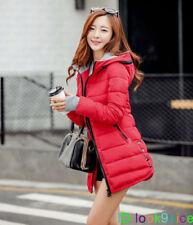 Fashion Winter Warm Coat Women Hooded Down Coat Slim Long parka Jacket Overcoat