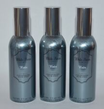 3 BATH & BODY WORKS WINTER CONCENTRATED ROOM SPRAY PERFUME MIST METALLIC CAN LOT