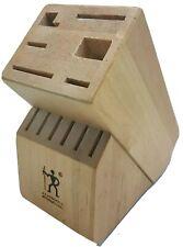 J. A. Henkels International 12 Slot Hardwood Knife Block Storage