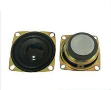 2pcs 52mm 4Ω 5W Full range speaker square 4ohm Loudspeaker Home Audio Parts