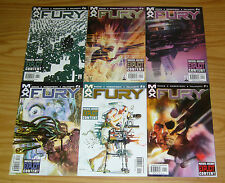 Nick Fury #1-6 VF/NM complete series GARTH ENNIS bill sienkiewicz MARVEL MAX set