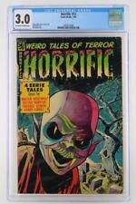 Horrific #12 - CGC 3.0 GD/VG - Comic Media 1954!