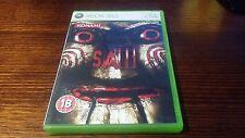 Saw The Video Game (Microsoft XBOX 360) Complete Survival Horror Rare