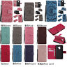 Fashion 3D Embossing Flip PU Leather Wallet Case For Samsung Galaxy Phones Cover