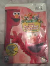 Sesame Street: Elmo's A-to-Zoo Adventure - The Videogame Nintendo Wii New