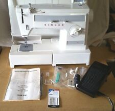 SINGER heavy duty free arm sewing machine MODEL 1022 WITH TOOLS AND ORIG MANUAL
