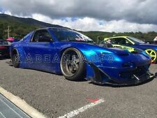 FRP ROCKET BUNNY WIDE-BODY AERO STYLE FRONT OVER FENDER FLARES FOR NISSAN 180SX