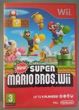 Nintendo Wii NEW SUPER MARIO BROS GAME COMPLETE (also works on Wii U)