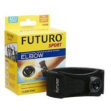 FUTURO Sport Custom Dial Tennis Elbow Strap Epicondylitis Tendonitis Swelling