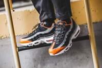 """Scarpe sneakers Nike Air Max 95 WE """"Safari"""", vari numeri, cod.AV7014-002"""