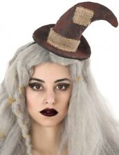 Ladies Scarecrow Mini Hat Halloween Carnival Book Day Fancy Dress Costume Outfit