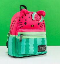 Official Loungefly Hello Kitty Watermelon Mini Backpack