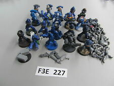 Warhammer 40K Space Marine army lot - 20 partially painted Tactical Troops q